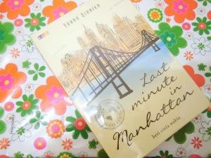 Cover Novel Last Minute in Manhattan