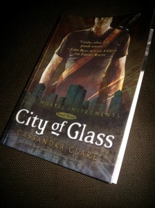 City of Glass cover depan