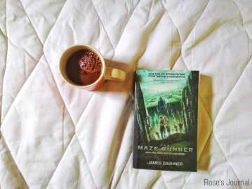 The Maze Runner by James Dashner [photo by Rose]