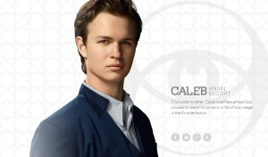 Ansel Elgort as Caleb Prior