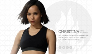 Zoe Kravitz as Christina